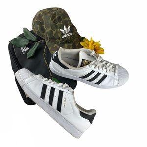 Adidas Superstar Originals Shelltoe White Black